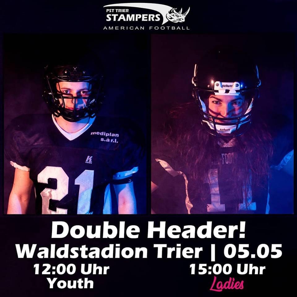 Double-Header im Waldstadion!