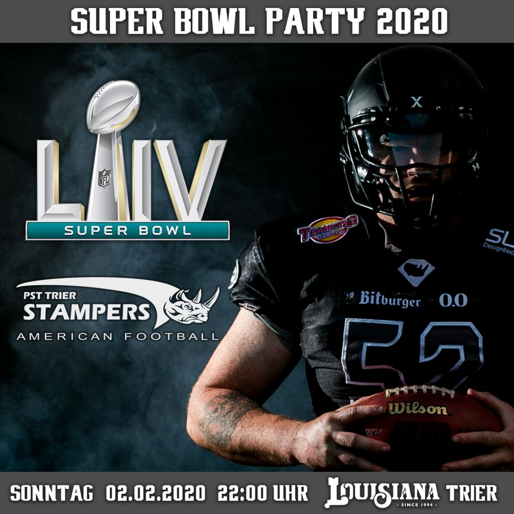 Super Bowl Party der Trier Stampers 2020