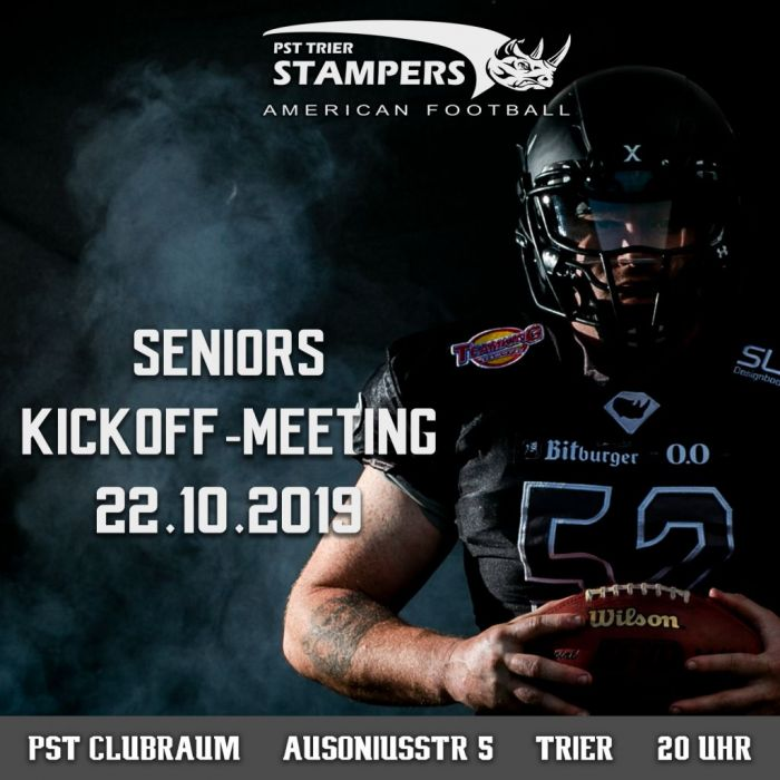 Kick-off Meeting PST Trier Stampers Seniors