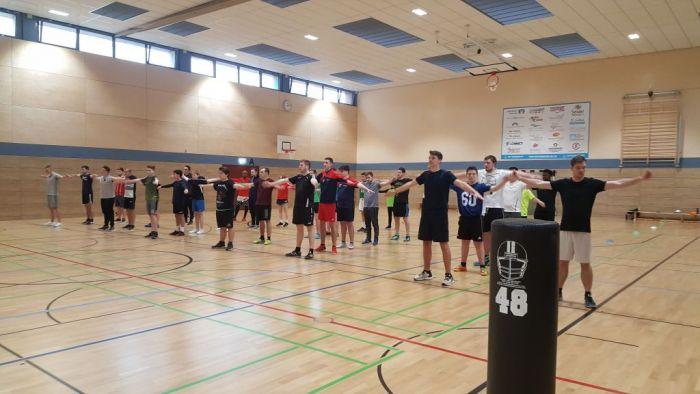 """""""Trau dich!"""" – Probetraining der PST Trier Stampers ein voller Erfolg"""